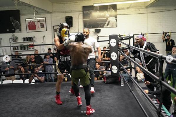 Esfandiari赢高赔率拳击对赌,Hart叫嚷着再来一场复赛