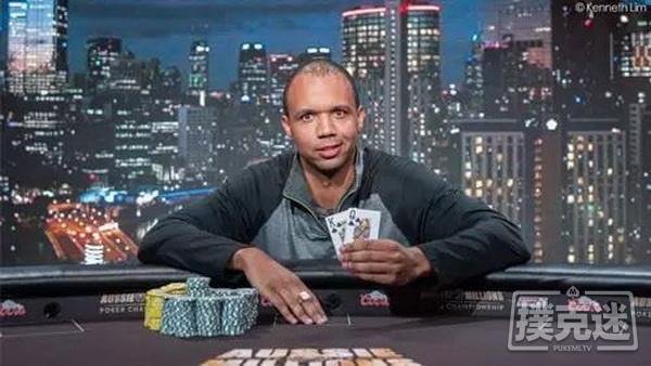 万年扑克脸Phil Ivey:从来没想过自己不会成功
