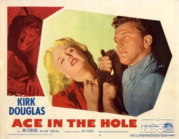 电影推荐《倒扣的王牌》 Ace in the Hole