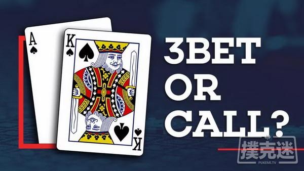 德州扑克AK除了3Bet,还可以这样玩