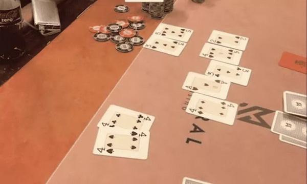 德州扑克四条大战同花顺!火星撞地球的超级冤家牌
