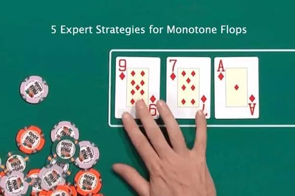 德州扑克天花翻牌面的五个专家级策略