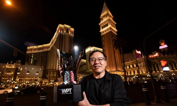 Qing Liu赢得了WPT威尼斯人的冠军头衔